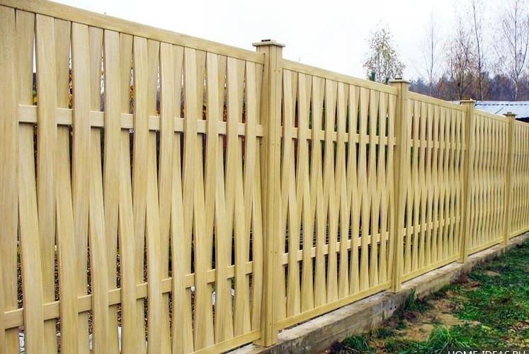 Какой забор поставить на даче?